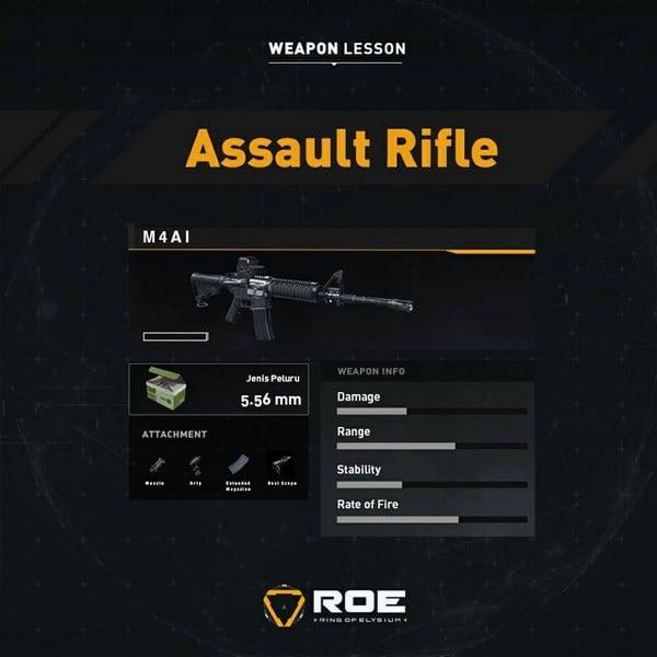 ROE Assault Rifle - M4A1