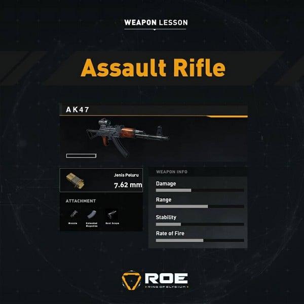 ROE Assault Rifle - AK47